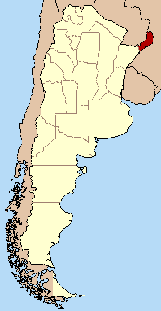Mappa Misiones